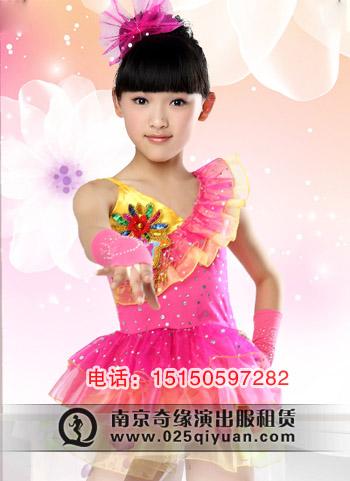 六一儿童演出服女童现代表演少儿亮片纱裙幼儿舞蹈服装公主裙